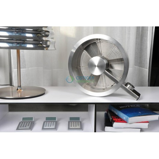 Podlahový ventilátor Stadler Form Q stříbrný