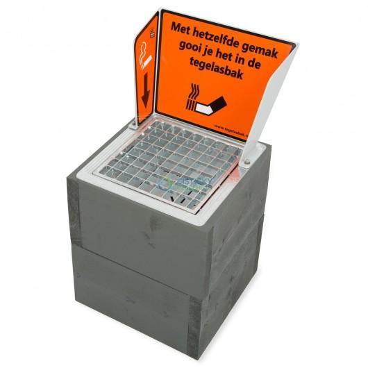 Dřevěný podstavec Kubus pro popelníky CleanCube 300