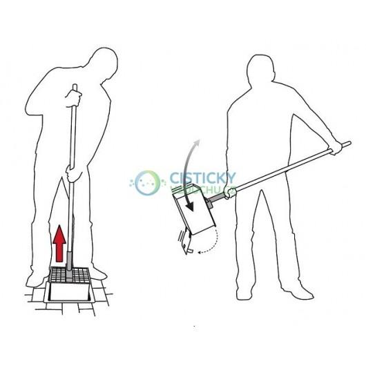 Vidlice pro vyprazdňování podzemních popelníků CleanCube