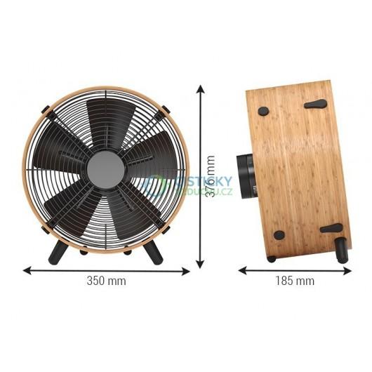 Podlahový ventilátor Stadler Form OTTO Bambus