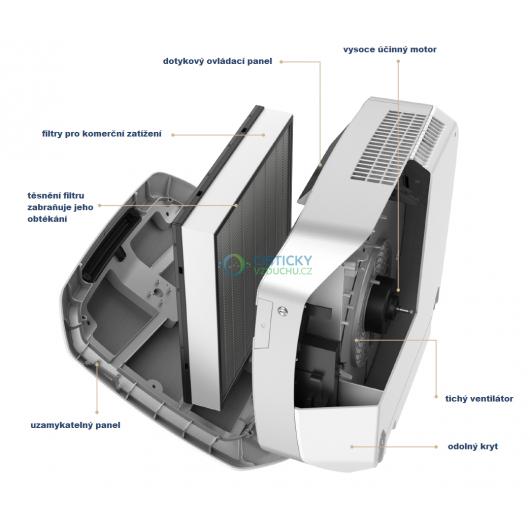 Čistička vzduchu Fellowes AeraMax PRO AM 4 PC