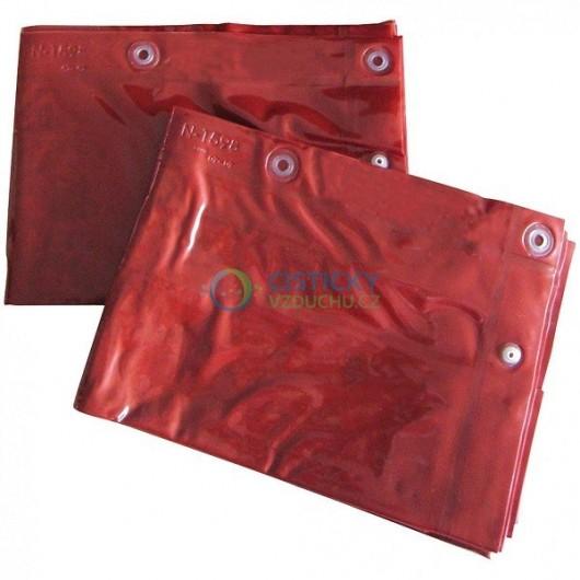 Ochranný svařovací závěs CEPRO Orange (červený)