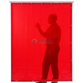 Ochranný svařovací závěs Orange (červený) 140x200cm