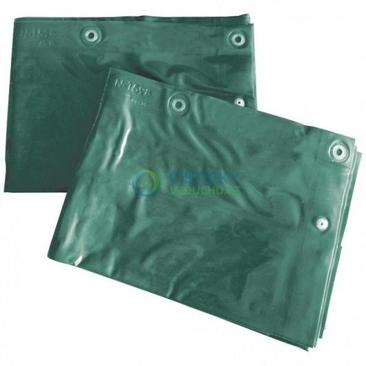 Ochranný svařovací závěs CEPRO Green-6 (průhledná zelená)