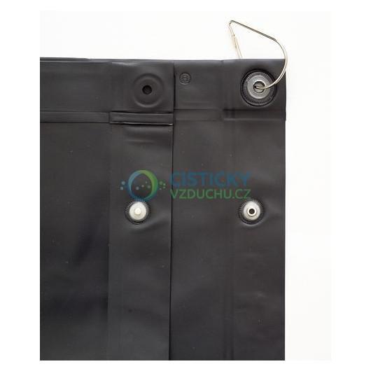 Ochranný svařovací závěs CEPRO Green-9 (neprůhledná zelená)