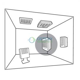 Uchycení čističky vzduchu Euromate VisionAir1 do rohu