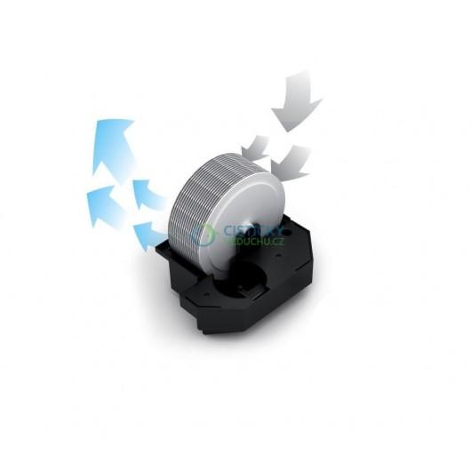 Čistič a zvlhčovač vzduchu Stadler Form Robert stříbrný