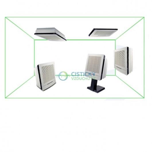 Čistička vzduchu Euromate VisionAir1 ElectroMax černá